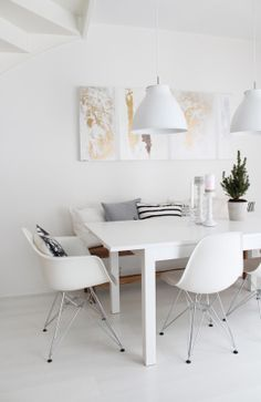 Dining Room Rules: Industrial Dining Room Lighting As The Key Fixture Dining Room Design, Dining Room Table, Dining Area, Dining Bench, Table Seating, Deco Design, Design Case, Sweet Home, Beautiful Dining Rooms