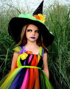 cute little girl witch makeup - Google Search