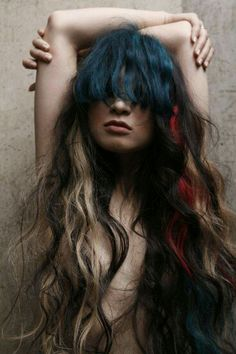 Ideas For Makeup Colorful Editorial Inspiration Editorial Hair, Natural Hair Styles, Long Hair Styles, Creative Hairstyles, Hair Photo, How To Make Hair, Hair Art, Ombre Hair, Pretty Hairstyles