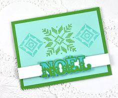Noel Card by Dawn McVey for Papertrey Ink (November 2014)
