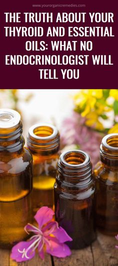 The Truth About Your Thyroid and Essential Oils: What NO Endocrinologist Will Tell You Natural Remedies For Migraines, Natural Teething Remedies, Natural Home Remedies, Herbal Remedies, Health Remedies, Health Tips, Health And Wellness, Health And Beauty, Health Benefits