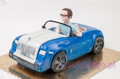 torty w kształcie samochodu, tort samochód, torty dla faceta, pomysł na prezent http://rogwojskiego.pl