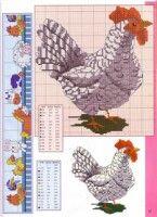 "Gallery.ru / irisha-ira - Альбом ""Петухи"" Magazine Cross, Rooster, Cross Stitch, Kids Rugs, Magazines, Home Decor, Crossstitch, Homemade Home Decor, Journals"