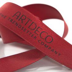 #Artdeco #image #ribbons #Satin #ribbon #geschenkband #schleifenband #satinband #banddruck #werbedruck #werbeband #bandweberei #namensbänder #imagebänder #siebdruck #logoband #branding #marketing #packaging