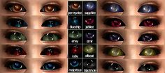 Mod The Sims - Default Replacements Alien Eyes with Gelydh's Space Oddity Eyes