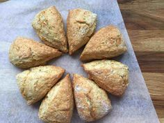 These easy to make, Vanilla Buttermilk Scones will become the basic recipe for all your scone making. Easily adapted to add other flavours and ingredients. Buttermilk Scone Recipe, Basic Scones, Blueberry Scones, Sallys Baking Addiction, Home Baking, Tea Cakes, Sweet Bread, Baking Recipes, Recipes