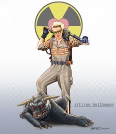 Jillian Holtzmann Ghostbusters 2016 by Stew-Illustrations