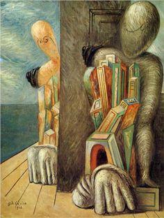 Giorgio de Chirico (1888 - 1978) | Metaphysical Art | Archaeologists - 1926