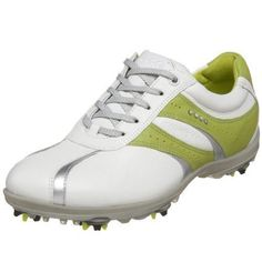 dee79508a9 ECCO Women's Casual white green spring silver Cool Hydromax Golf Shoe «  Clothing Impulse #golfclothes