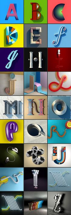 36 DAYS OF TYPE – Letters by Alejandro López Becerro