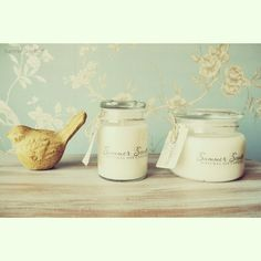 Apothecary jar Soy candles- vintage collection