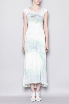 Long Tee Dress by Black Crane