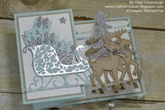 Crafts Bouquet: Stampin'Up Santa's Sleigh - Handmade for the Holidays