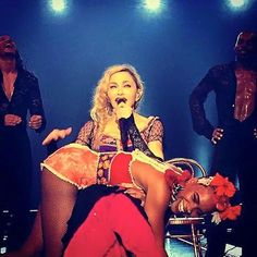 Madonna Rebel Heart Tour ....someone in for a spanking