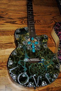 Embellished Guitars....