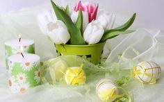 gyertya húsvét tavasz tojás