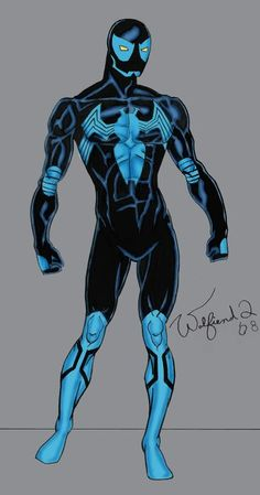 Amalgam - Blue Beetle/Spiderman