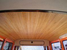 ciel de toit en lame bambou en rouleau de chez casto