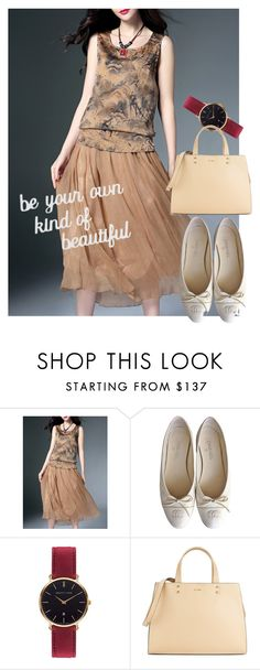 """bag"" by masayuki4499 ❤ liked on Polyvore featuring WithChic, Chanel, Abbott Lyon, Calvin Klein and PBteen"