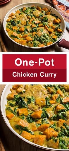 Making a curry was never easier thanks to the wonderful consistency of cream of mushroom soup!  This foolproof recipe for One-Pot Chicken Curry can be on the dinner table in less than an hour and will fill your home with delicious and exotic aromas.