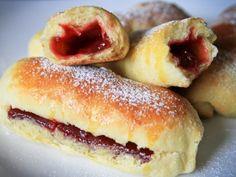 Lekváros bukta | Édes-Élet Hungarian Food, Hungarian Recipes, Doughnut, Hungarian Cuisine