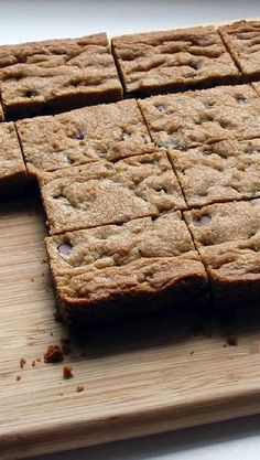 Weight Watchers Chocolate Chip Blondies Recipe
