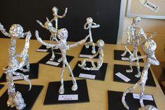 Middle School Art, Art School, Art For Kids, Crafts For Kids, 7 Arts, Culture Art, 4th Grade Art, Sculpture Projects, School Art Projects