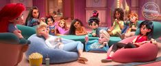 Hello everyone here is a another new Wreck-It Ralph 2 movie update about the Disney Princess Characters but every fanart are trying to what It'll be loo. Wreck-It Disney Princesses modern world Disney Pixar, Disney And Dreamworks, Disney Girls, Disney Love, Disney Magic, Disney Wiki, Disney Bounding, Disney Stuff, Walt Disney Animation Studios
