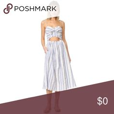 ISO: Parker Dress and Self Portrait Dress Both in XS - Parker, Parker Black Tesoro Dress and self Portrait, Azalea Dress. Retails for $320/$480 but I'm obviously looking for a deal through Posh 👍🏼 Please tag me in your listings if you have either! Dresses Midi