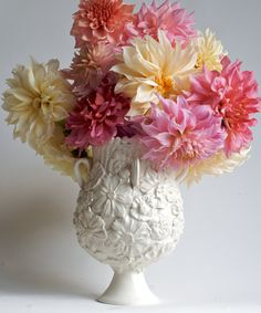Frances Palmer creates beautiful handmade items...I dream about this vase!