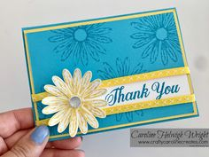 Daisy Delight Card Inspiration and Daisy Punch Update - Stampin' Up Products
