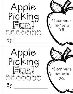 WRITING NUMBERS 0-5 INTERACTIVE READER - TeachersPayTeachers.com