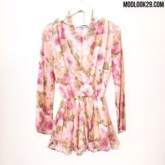 Our new Willemina Floral Romper is now available in store and online! www.modlook.com xo