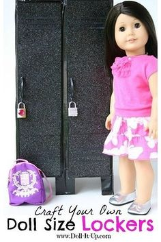 American girl doll accessories are expensive. But you can make some yourself!