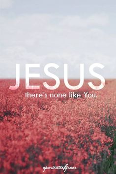 Jesus, There's none like you...More at http://ibibleverses.com