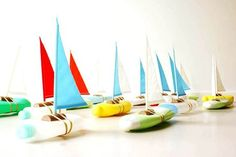 what's that you say? you have plastic bottles and don't know what to do? why, make a sailboat, of course!
