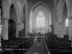 Kilmore Cathedral, Interior, Cavan, Co. Old Photographs, Cathedral, Interior, Indoor, Old Photos, Interiors, Cathedrals, Old Pictures, Ely Cathedral