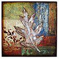 single leaf collage