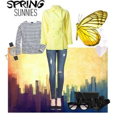 Spring Sunnies by miqua on Polyvore featuring Mode, J.Crew, Issey Miyake, Hudson, The Cambridge Satchel Company, Olivia Burton, Kate Spade and Roeckl Spring Trends, Spring 2015, Olivia Burton, Cambridge Satchel, Issey Miyake, Sunnies, Spring Fashion, J Crew, Kate Spade