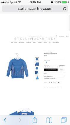 Boys Muscle Sweatshirt // Stella McCartney