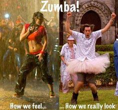 Men doing Zumba?!! I rest my case! :-D
