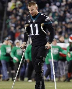 That Philly offense aint the same without this guy. Can #NickFoles get it together? #PhiladelphiaEagles #CarsonWentz