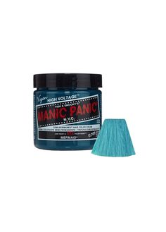 Check out the range of alternative hair dyes here at Attitude Clothing. Manic Panic Mermaid, Semi Permanente, Semi Permanent Hair Dye, Alternative Hair, Dye My Hair, High Voltage, Hair Goals, Drink Sleeves, Cream