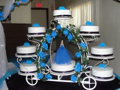 Cinderella XV Cake
