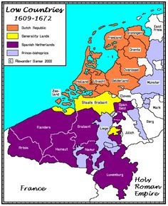 The Lowe Countries, European Map, European History, World History, American History, History Timeline, History Facts, Holland Map, Netherlands Map, Historical Maps