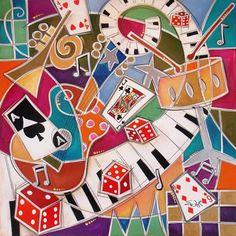 artist Eric Waugh Music Images, Original Art, Faces, Kids Rugs, Joy, Funny, Art, Kid Friendly Rugs, Glee