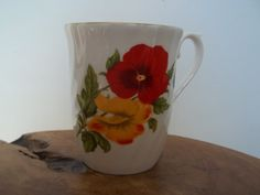 Vintage Coffee Cup Hudson and Middleton H&M by JunkyardElves, $10.00
