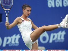 Flavia Pennetta is talented Italian tennis star who started her professional career in 2000. Description from top2best.com. I searched for this on bing.com/images
