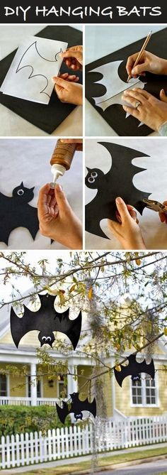 8 best Halloween Decorations images on Pinterest in 2018 Blue - do it yourself outdoor halloween decorations