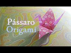 Origami - Como fazer um PÁSSARO de papel TSURU